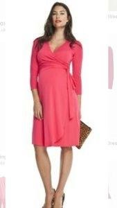 Isabella Oliver Maternity Wrap Dress, S